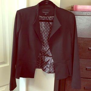 Cynthia Rowley Blazer Jacket in Black